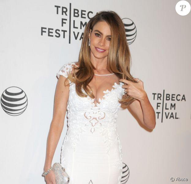 Sofia Vergara lors du Festival de Tribeca. New York, le 22 avril 2014.