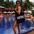 Lisa Rinna en vacances au Belize, sur Instagram le 26 mars 2015