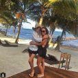 Lisa Rinna en vacances au Belize, sur Instagram le 1er avril 2015