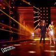 Les jurés dans The Voice 4 (demi-finale), le samedi 18 avril 2015 sur TF1.