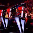Les coachs dans The Voice 4 (demi-finale), le samedi 18 avril 2015 sur TF1.