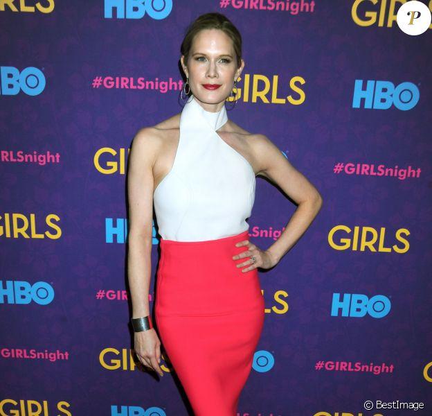 """Stephanie March - Premiere de la 3e saison de la serie """"Girls"""" au Jazz au Lincoln Center a New York, le 6 janvier 2014."""
