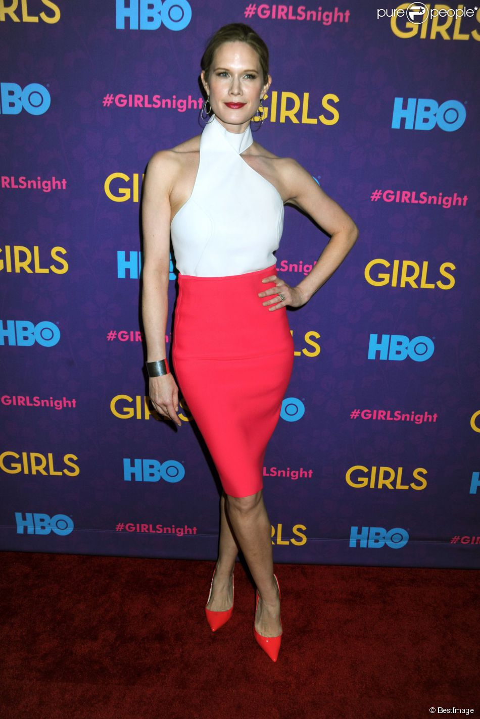 "Stephanie March - Premiere de la 3e saison de la serie ""Girls"" au Jazz au Lincoln Center a New York, le 6 janvier 2014."