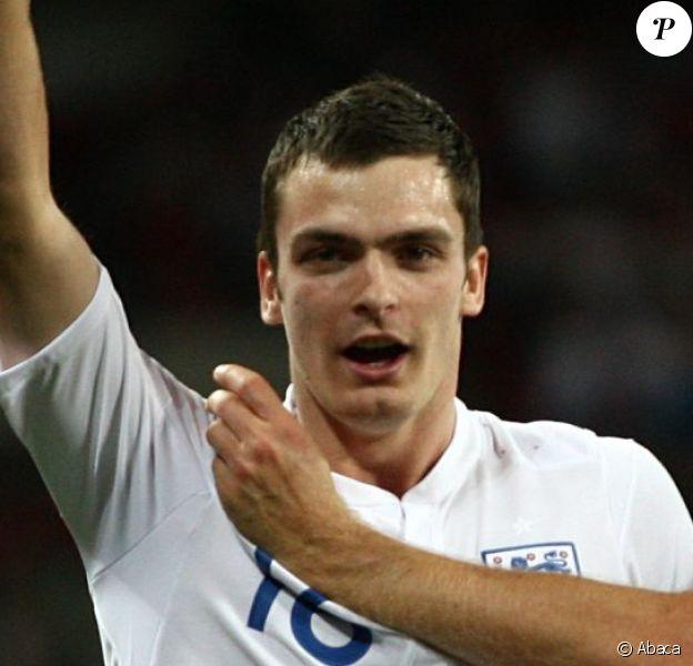 Adam Johnson lors d'Angleterre - Bulgarie lors des éliminatoires pour l'Euro 2012, en septembre 2010