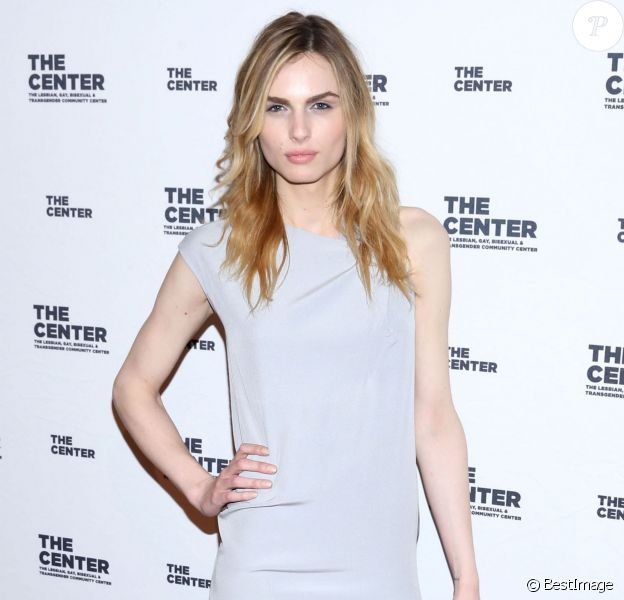 "Andreja Pejic (Andrej Pejic) - People au ""2015 Center Dinner"" à New York, le 2 avril 2015."