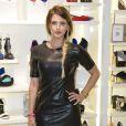 """Exclusif - La jolie Kelly Vedovelli - Soirée de lancement de la nouvelle collection de chaussures Aldo """"Match Perfect"""" printemps-Eté 2015 à Paris, le 24 avril 2015."""