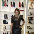 """Exclusif - Kelly Vedovelli - Soirée de lancement de la nouvelle collection de chaussures Aldo """"Match Perfect"""" printemps-Eté 2015 à Paris, le 24 avril 2015."""