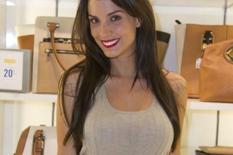Ludivine Sagna, wag sexy, avec la ''Bella'' Kelly Vedovelli vêtue de cuir