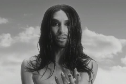 Conchita Wurst : Diva nue prônant la tolérance dans ''We Are Unstoppable''