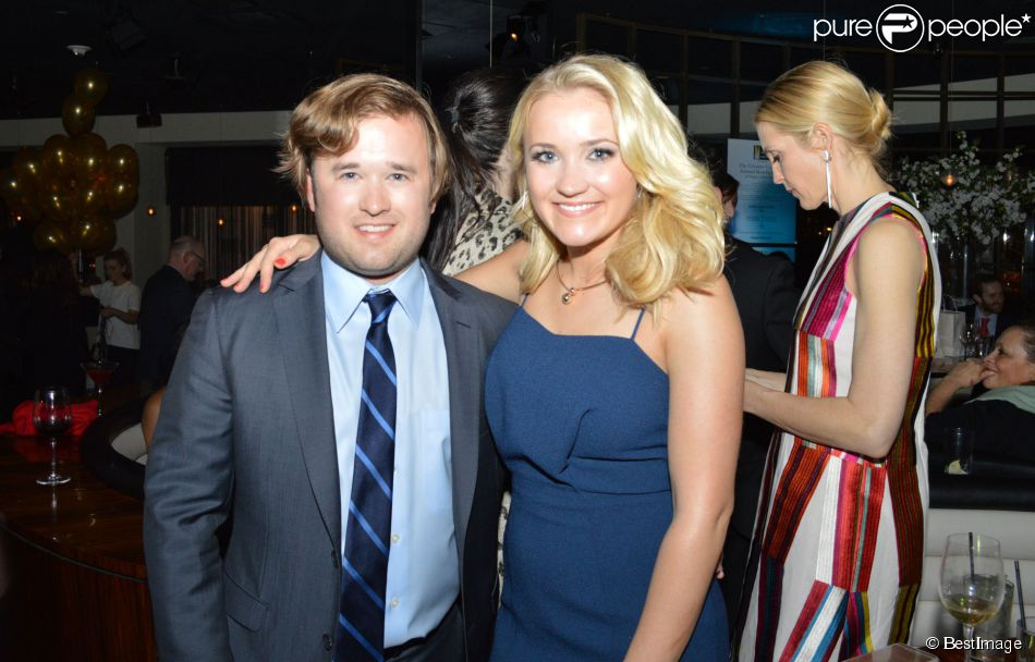 Haley Joel Osment  Emily Osment - People au d  238 ner  quot Creative Coalition    Haley Joel Osment And Emily Osment