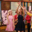 """Reese Witherspoon et Sofia Vergara lors de leur passage pour l'émission """"Despierta America"""" le 21 avril 2015 à Miami"""