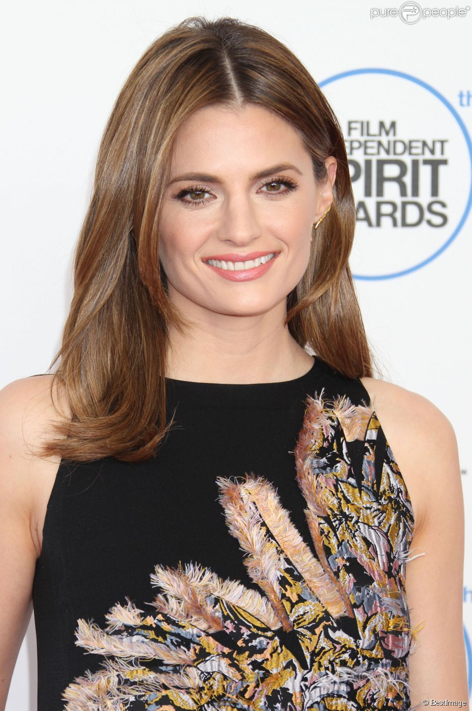"Stana Katic - Soirée ""Film Independent Spirit Awards"" à Santa Monica le 21 février 2015."
