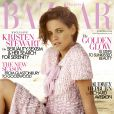 Couverture du magazine Harper's Bazaar (numéro de juin) avec Kristen Stewart.