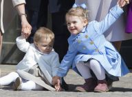 Leonore et Estelle de Suède: Les petites princesses animent les 69 ans de papy !