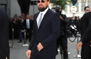 Leonardo DiCaprio très barbu et gominé, mais chic : Ce style lui va à ravir !