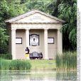 Le mémorial dédié à Lady Di à Althorp.