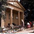 Le mémorial dédié à la princesse Diana à Althorp en 1998