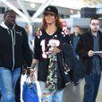 """Rihanna à l'aéroport JFK de New York, le 1er mai 2015."""