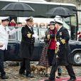 La reine Margrethe II de Danemark et le prince consort Henrik embarquaient le 5 mai 2015 à bord du yacht royal, le Dannebrog, pour leur traditionnelle croisière officielle des beaux jours.
