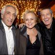Muriel Robin entourée des cousins Darmon, Gérard et Jean-Claude