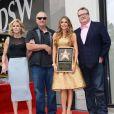 Sofia Vergara ; Ed O'Neill ; Julie Bowen ; Eric Stonestreet - Sofia Vergara inaugure son étoile sur Hollywood boulevard à Los Angeles Le 07 mai 2015