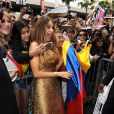 Sofia Vergara inaugure son étoile sur Hollywood boulevard à Los Angeles Le 07 mai 2015