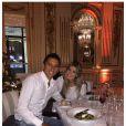 Marquinhos et sa fiancée Carol - photo issue du compte Instagram de Marquinhos le 1er janvier 2015