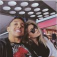 Carol Cabrino et Marquinhos, photo issue du compte Instagram de la jeune femme, le 6 avril 2015