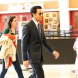 """Ryan Gosling brun sur le tournage du film """"The Big Short"""" à la Nouvelle-Orléans le 7 mai 2015."""