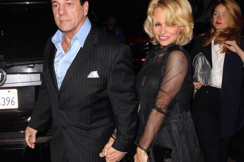 Pamela Anderson : Tout en élégance pour un dîner avec son ex, Chuck Zito