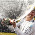 Nico Rosberg s'est imposé au terme du Grand Prix d'Espagne sur le circuit de Catalogne, le 10 mai 2015