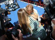 Nico Rosberg : Le baiser de la victoire de sa belle Vivian, enceinte