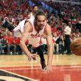 Joakim Noah lors du match Chicago Bulls - Cleveland Cavaliers. Chicago, le 10 mai 2015.