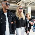 Doutzen Kroes and husband Sunnery James are seen arriving at Nice Airport, Nice, France on May 12, 2015, to attend the 68th International Cannes Film Festival. Photo by ABACAPRESS.COM12/05/2015 - Nice