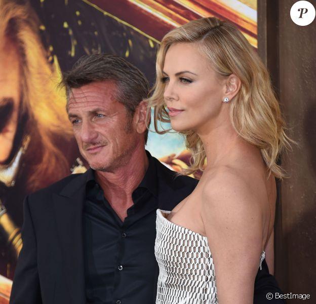 Sean Penn et Charlize Theron à Los Angeles le 7 mai 2015.