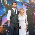 Chis Hemsworth et sa femme Elsa Pataky à Londres le 24 juillet 2014.
