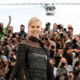 "Charlize Theron - Photocall du film ""Mad Max: Fury Road"" lors du 68e festival international du film de Cannes le 14 mai 2015."