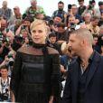 "Nicholas Hoult, Charlize Theron, Tom Hardy - Photocall du film ""Mad Max: Fury Road"" lors du 68ème festival international du film de Cannes le 14 mai 2015.  Photocall for 'Mad Max: Fury Road' at the 68th annual Cannes Film Festival, in Cannes, France on May 14, 2015.14/05/2015 - Cannes"