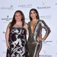 "Eva Longoria et Camille Sereys de Rothschild - Soirée ""Global Gift Gala"" pendant le 68e Festival international du film de Cannes. Le 14 mai 2015"