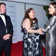 """Hugues Lechanoine, Camille Sereys de Rothschild et Eva Longoria - Soirée """"Global Gift Gala"""" pendant le 68e Festival international du film de Cannes. Le 14 mai 2015"""