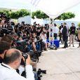 Gus Van Sant - Photocall de The Sea of Trees/La Forêt des songes au Festival de Cannes le 16 mai 2015