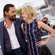 Matthew McConaughey et Naomi Watts - Photocall de The Sea of Trees/La Forêt des songes au Festival de Cannes le 16 mai 2015