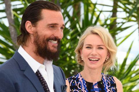 Matthew McConaughey barbu charmant malgré l'accueil glacial de son film à Cannes