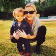 Alfonso Ribeiro Jr. avec sa maman Angela, photo tweetée par Alfonso Ribeiro pour la Fête des Mères, en mai 2015