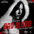 Lily Aldridge sur l'une des affiches de son clip Bad Blood