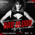 Taylor Swift sur l'une des affiches de son clip Bad Blood