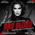 Cindy Crawford sur l'une des affiches du clip Bad Blood