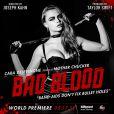 Cara Delevingne sur l'une des affiches du clip Bad Blood