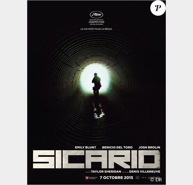 Affiche du film Sicario en compétition au Festival de Cannes