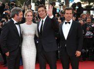Cannes 2015 : Emily Blunt étourdissante au côté de Josh Brolin, heureux fiancé